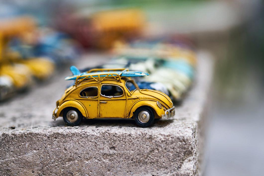 Kovové modely aut uchvátí každého chlapce i muže